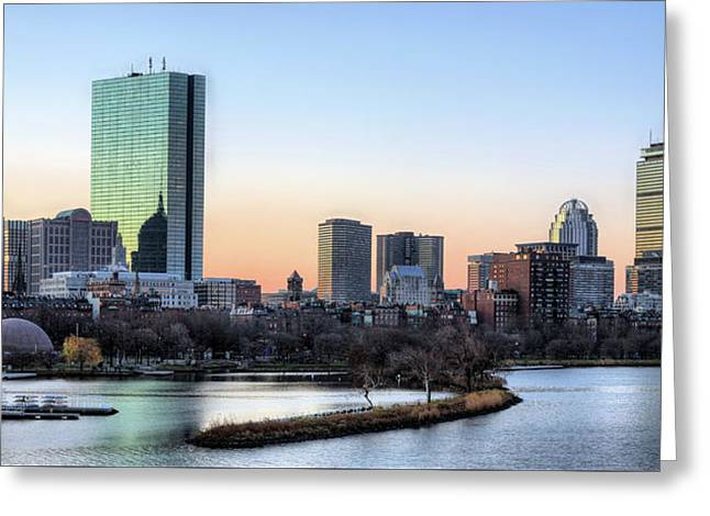 Back Bay Sunrise Greeting Card by JC Findley