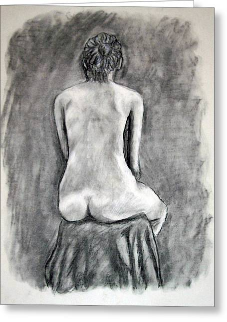 Back Beauty Greeting Card by Jean Haynes
