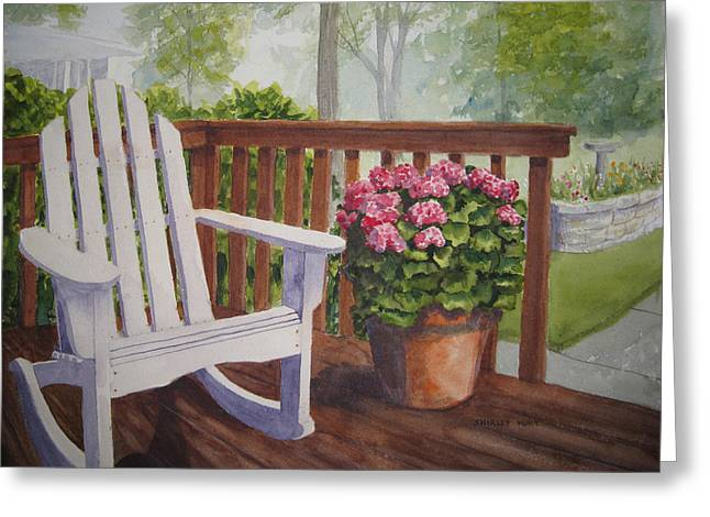 Back Porch Greeting Card