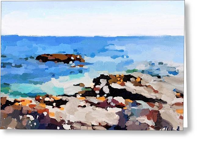 Back Shore, Gloucester, Ma Greeting Card