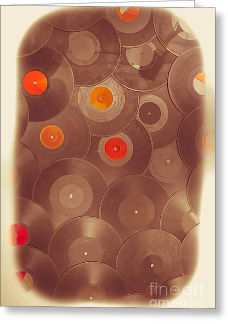 Background Music Greeting Card by Jorgo Photography - Wall Art Gallery