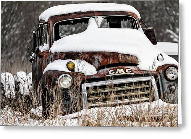 Greeting Card featuring the photograph Backlot Treasure by Brad Allen Fine Art
