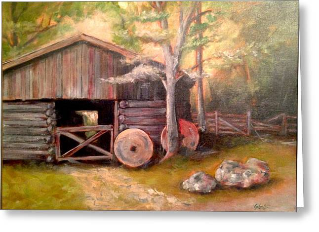 Backwoods Barn Greeting Card