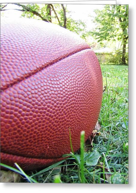 Backyard Football Greeting Card