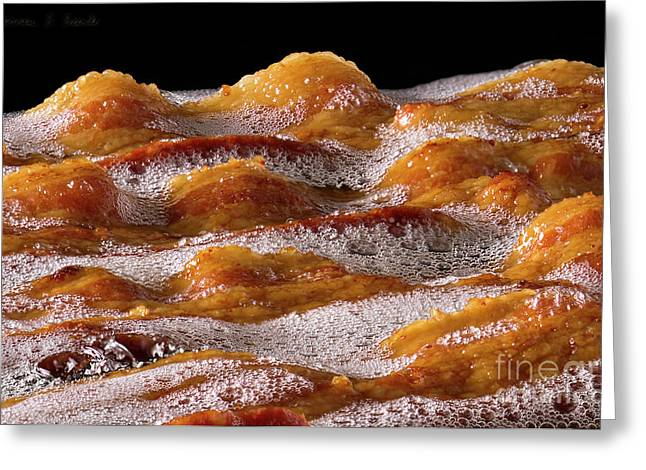 Bacon Greeting Card by Warren Sarle
