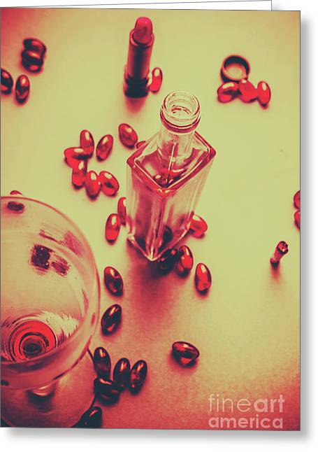 Bad Habits Greeting Card by Jorgo Photography - Wall Art Gallery