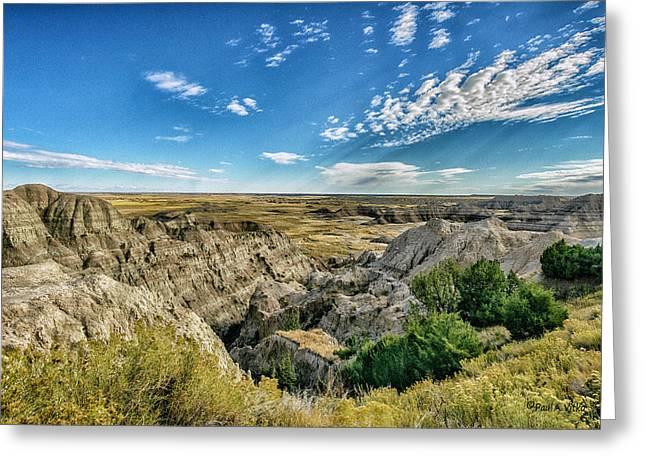 Bad Lands South Dakota.... Greeting Card
