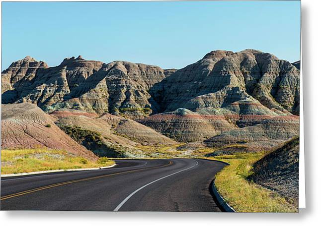 Badlands Ahead Greeting Card
