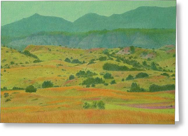 Badlands Grandeur Greeting Card