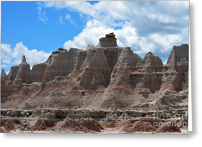 Badlands Sd #146 Greeting Card by Chalet Roome-Rigdon