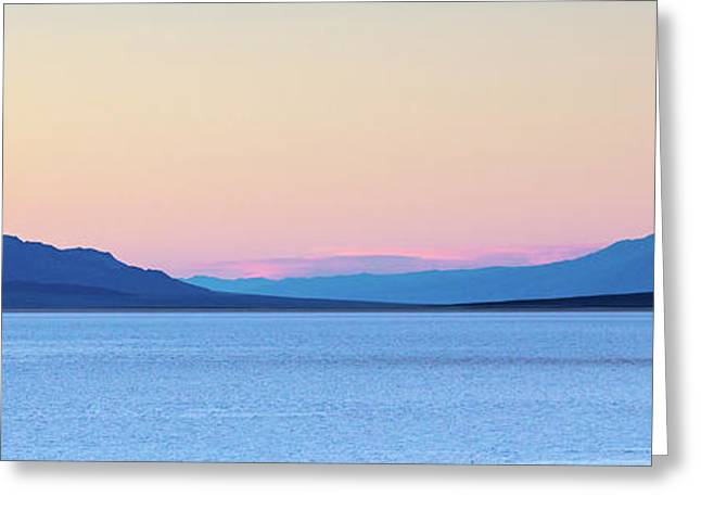 Greeting Card featuring the photograph Badwater - Death Valley by Peter Tellone