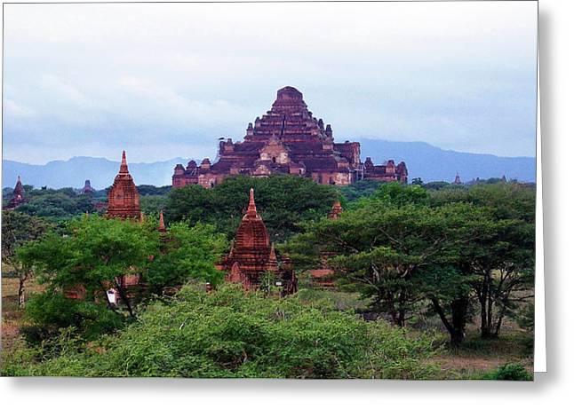 Bagan 2 Greeting Card