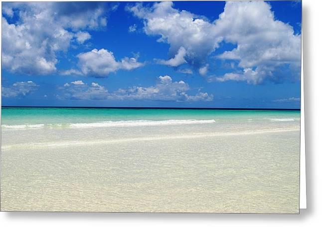 Bahama's Heaven Greeting Card by Karla Kernz
