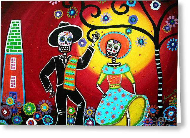 Bailar Greeting Card