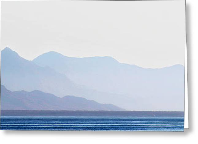 Sea Of Cortez Greeting Cards - Baja Point Blue Greeting Card by Russ Harris
