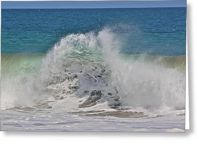 Baja Wave Greeting Card