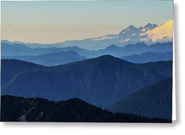 Baker From Pilchuck Greeting Card