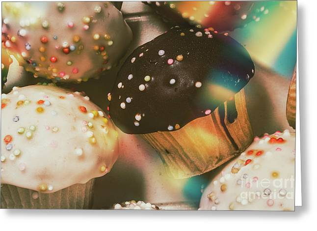 Bakers Cupcake Delight Greeting Card