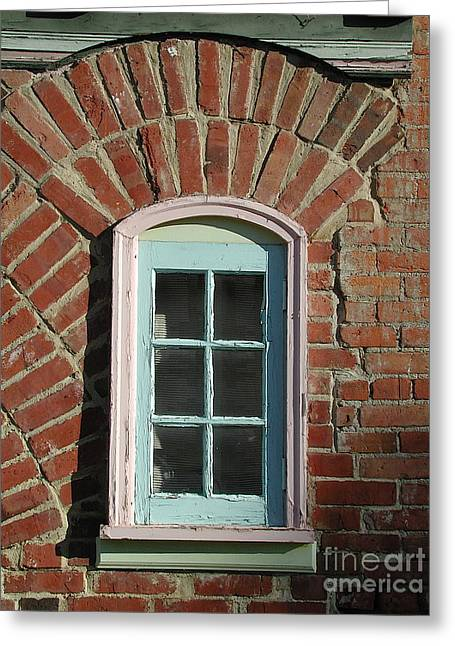 Bakery Window II Greeting Card by Jane Bucci