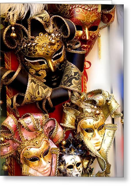 Bal Masque Greeting Card