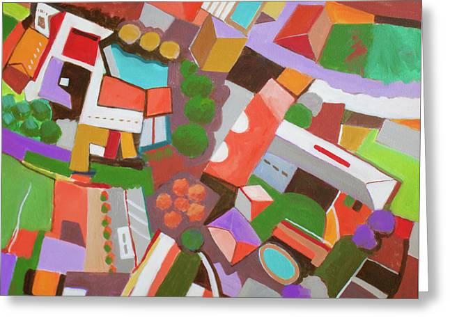 Bala Cynwood Greeting Card by Toni Silber-Delerive
