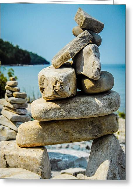 Balance Is The Key Greeting Card