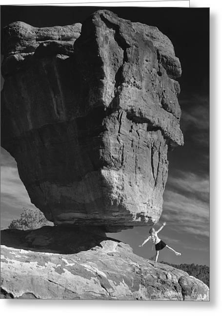 Balance Greeting Card by Jim Furrer