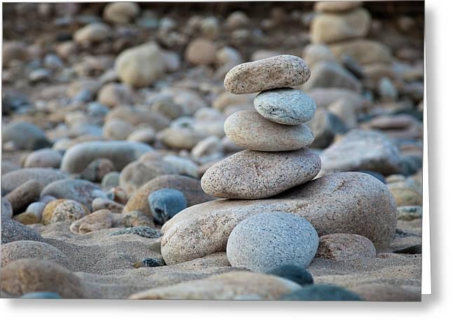 Balance Greeting Card by Sara Hudock