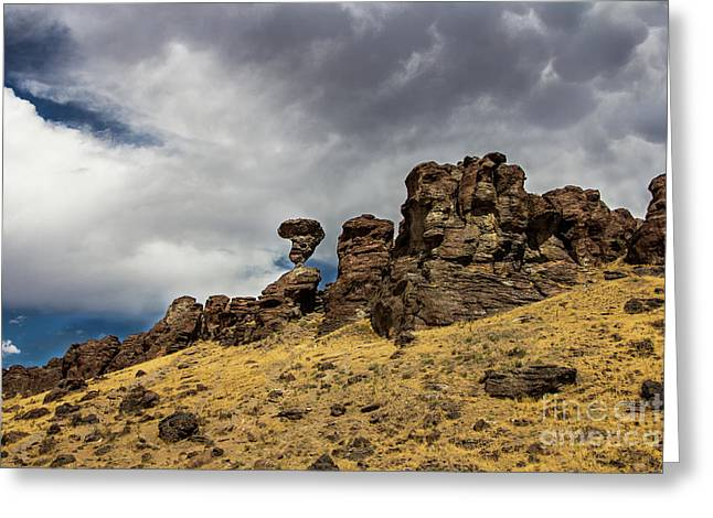 Balanced Rock Adventure Photography By Kaylyn Franks Greeting Card