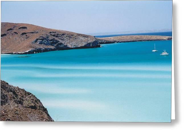 Balandra Bay Greeting Card by Kathy Schumann