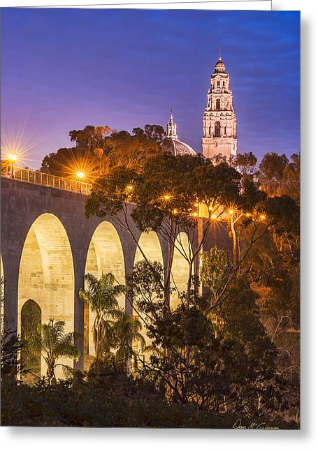 Balboa Bridge Greeting Card