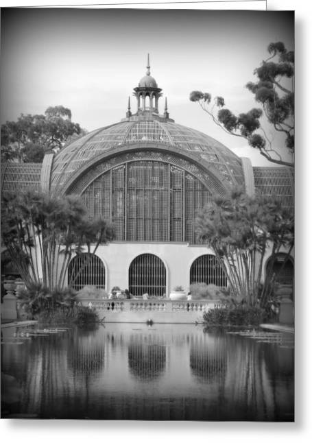 Balboa Park Botanical Garden Greeting Card by Karyn Robinson