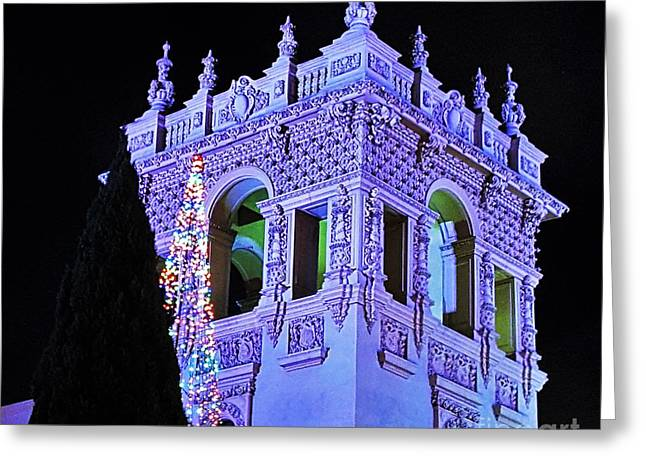 Balboa Park December Nights Celebration Details Greeting Card by Jasna Gopic