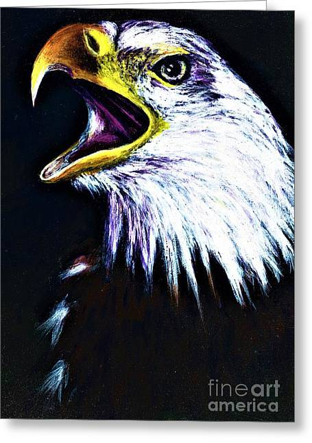 Bald Eagle - Francis -audubon Greeting Card
