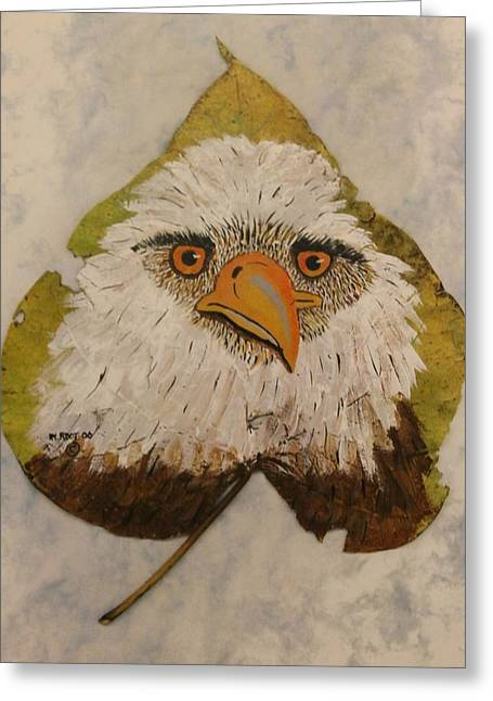 Bald Eagle Front View Greeting Card