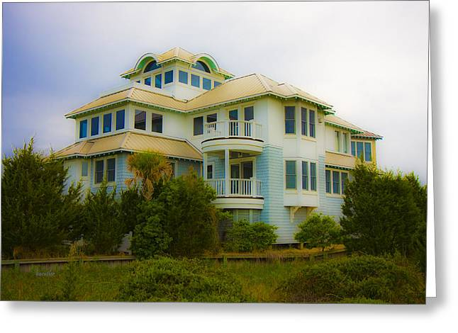 Seaside Getaway  Greeting Card by Betsy Knapp