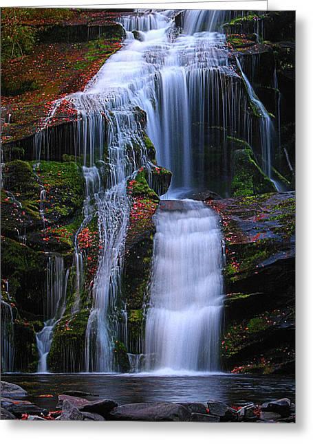 Bald River Falls Greeting Card