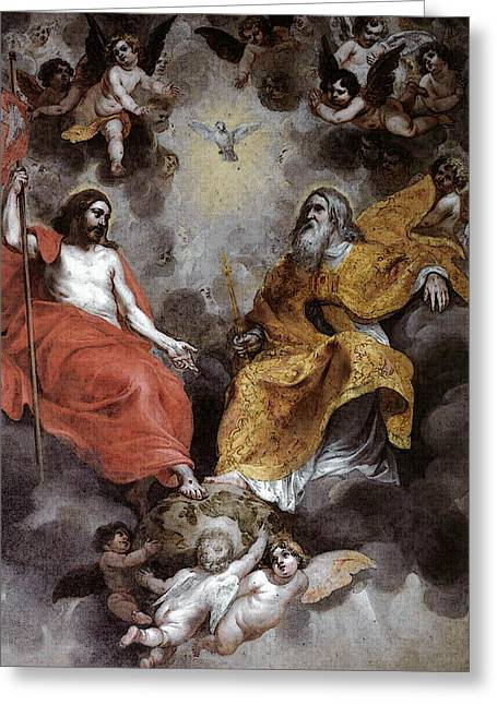 Balen Hendrick Van Holy Trinity Greeting Card