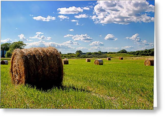 Bales Of Clouds Greeting Card