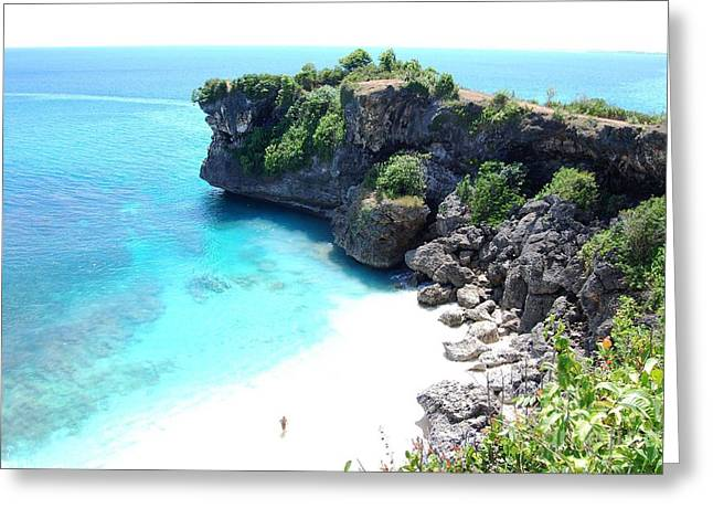 Bali Beach Greeting Card