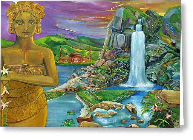 Bali Dream Greeting Card by John Keaton