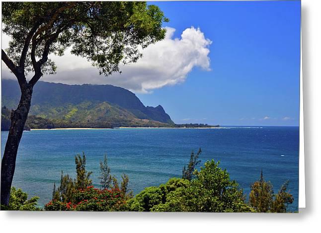 Bali Hai Hawaii Greeting Card