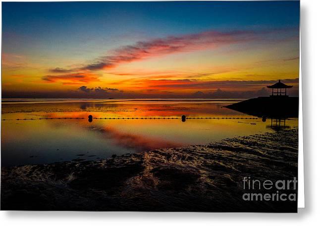 Bali Sunrise II Greeting Card