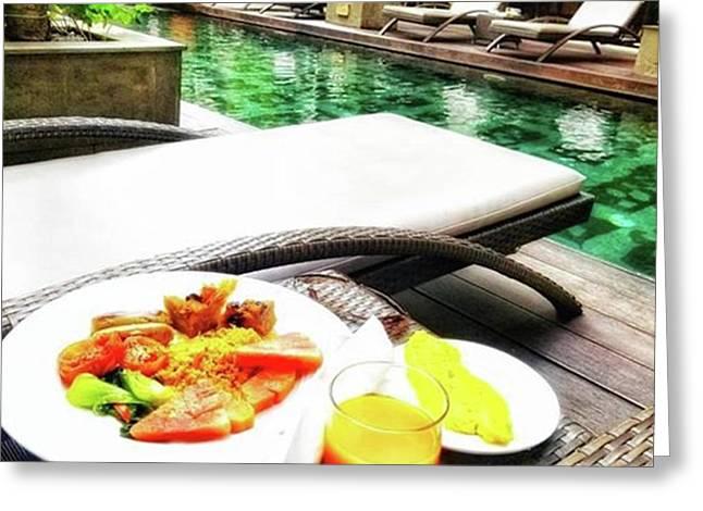 Bali!! Waking Up To A Fantastic Greeting Card