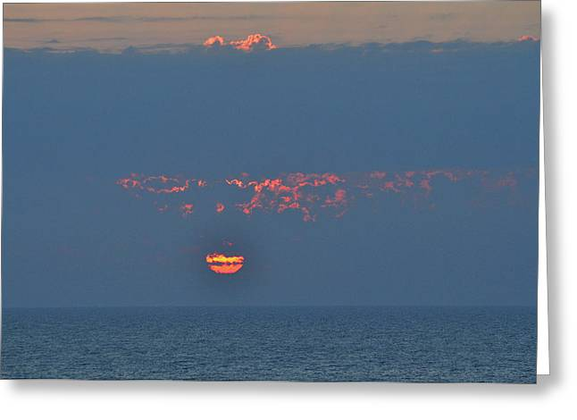 Sand Key Greeting Cards - Ball of Fire Greeting Card by Peter  McIntosh