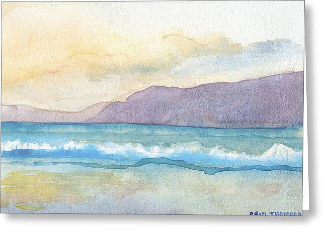Ballenskelligs Beach Greeting Card
