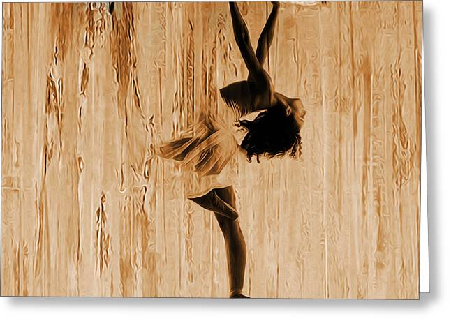 Ballerina 0451 A Greeting Card
