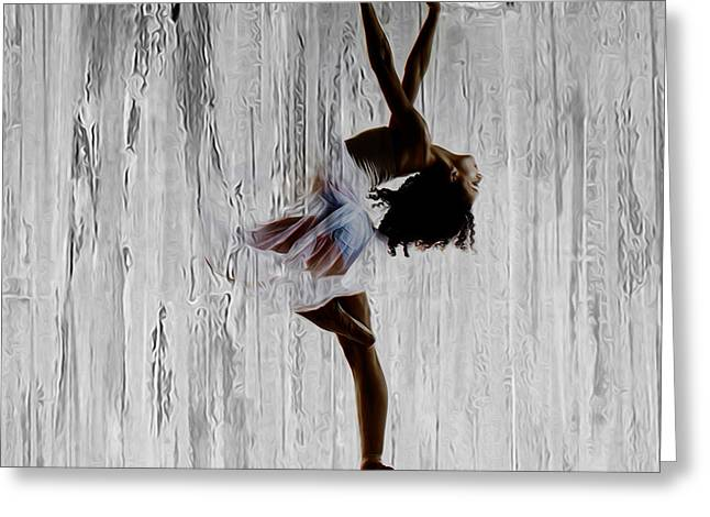 Ballerina 0451 B Greeting Card