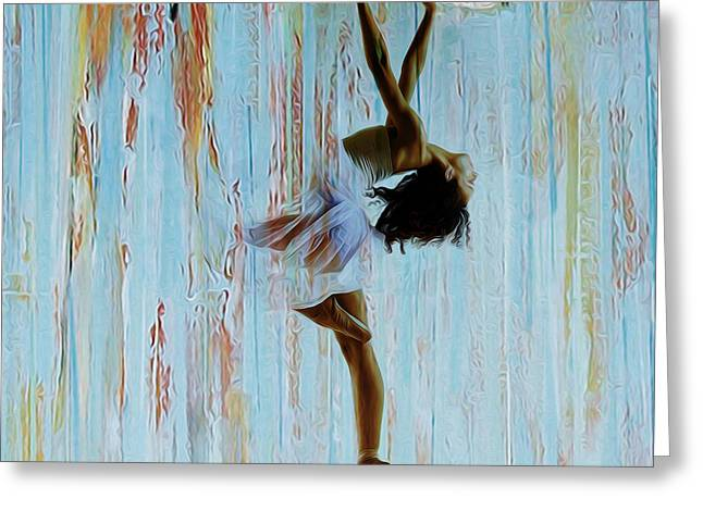 Ballerina 0451  Greeting Card