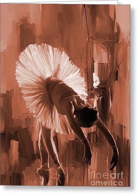 Ballerina 333d Greeting Card by Gull G